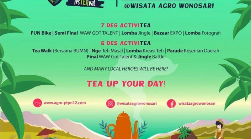 Catat! 7-8 Desember 2019 ada WAW fesTEAval di Wonosari