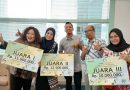 PTPN XII berhasil menyabet juara II jingle SIPro