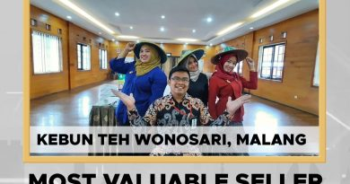Kebun Wonosari Jadi The Most Valuable Seller di Ajang Kemenparekraf