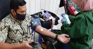 Pandemi, PTPN XII Tetap Gelar Donor Darah Rutin
